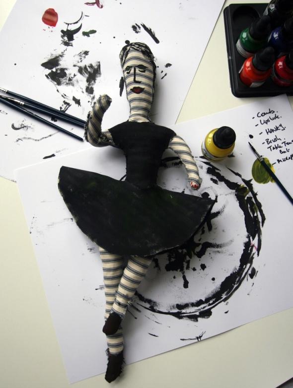 My Ballerina Doll for Mrs N.