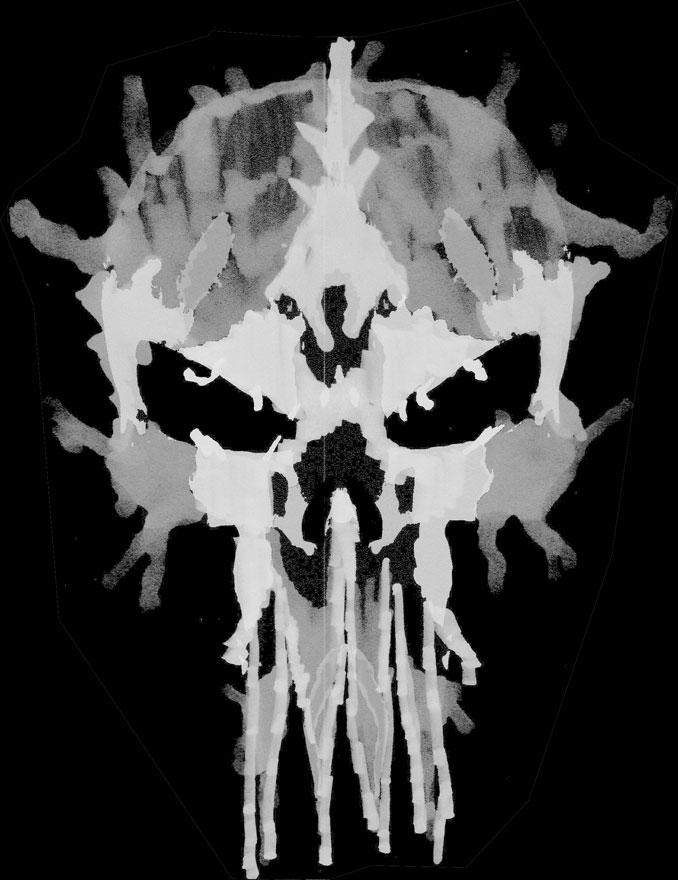 Simons Rorschach Skull