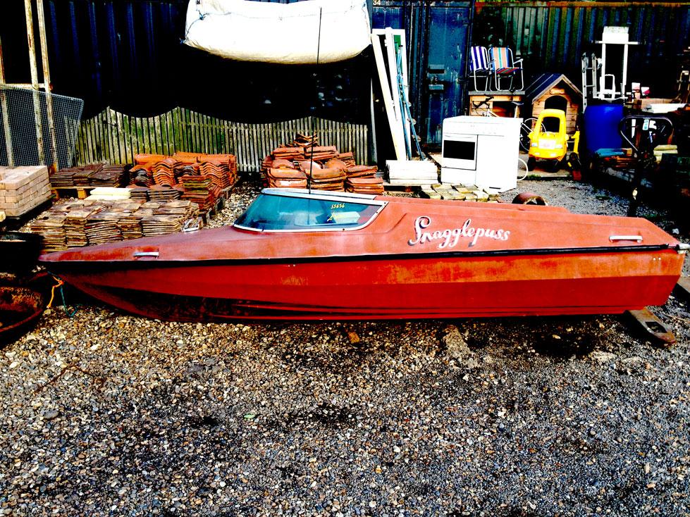 Snagglepuss the Speedboat