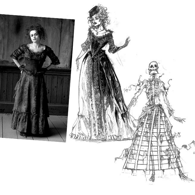 Coleen Atwood designs for Sweeney Todd