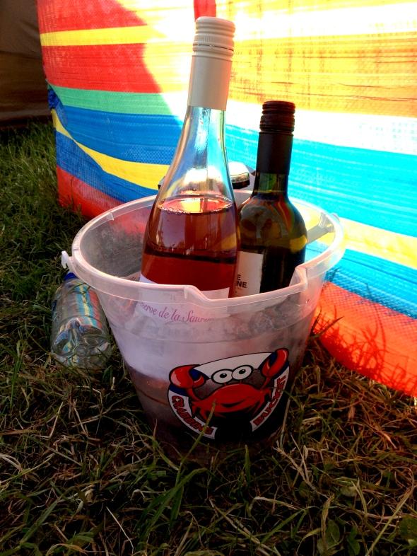 Crab Wine Bucket