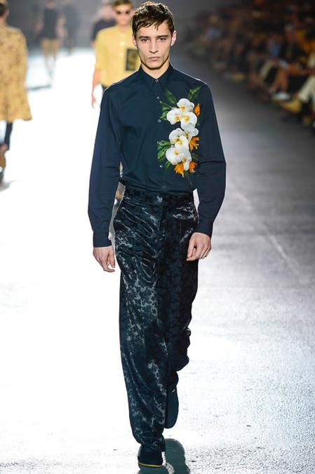 Pretty Strong - Dries Van Noten SS14