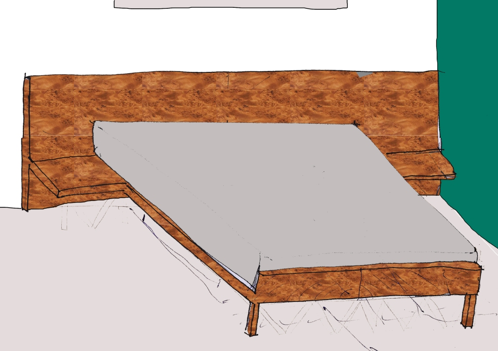 My New Bed - Design 4