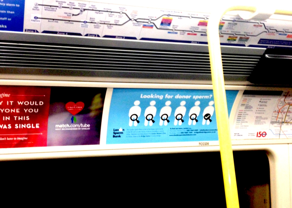 Sperm Donor on the Tube