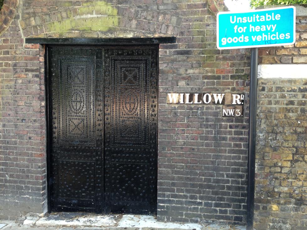 Gringotts Back Entrance