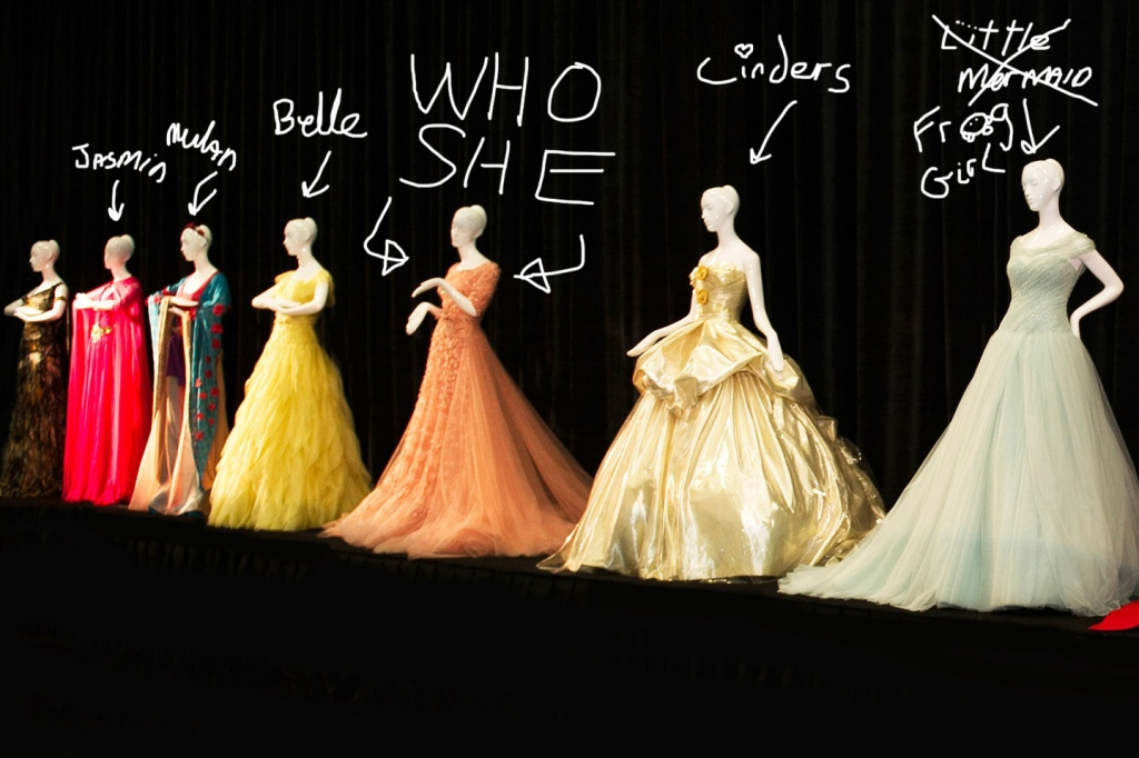 Disney Dresses - WHO SHE?