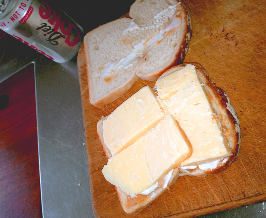 Peanut Butter, Cheese and Mayo