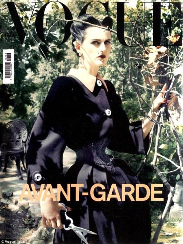Stella Tennant - Vogue Italia - September 2011